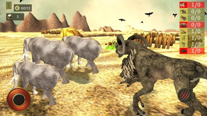 Jungle Monster Attack Sim Game screenshot