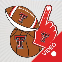 Texas Tech Red Raiders Animated Selfie Stickers