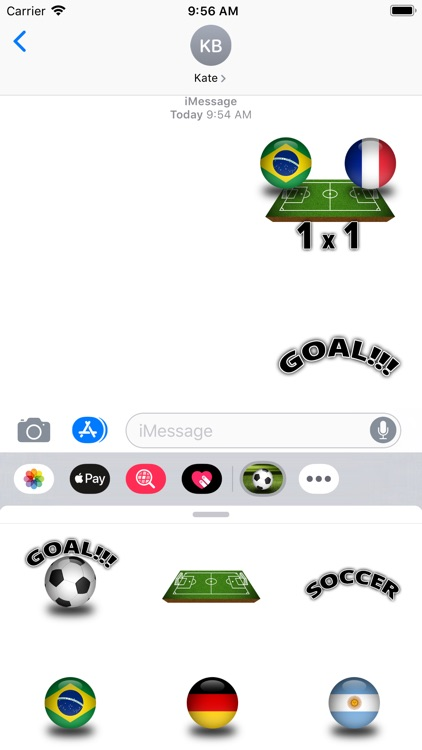 Super Soccer Stickers