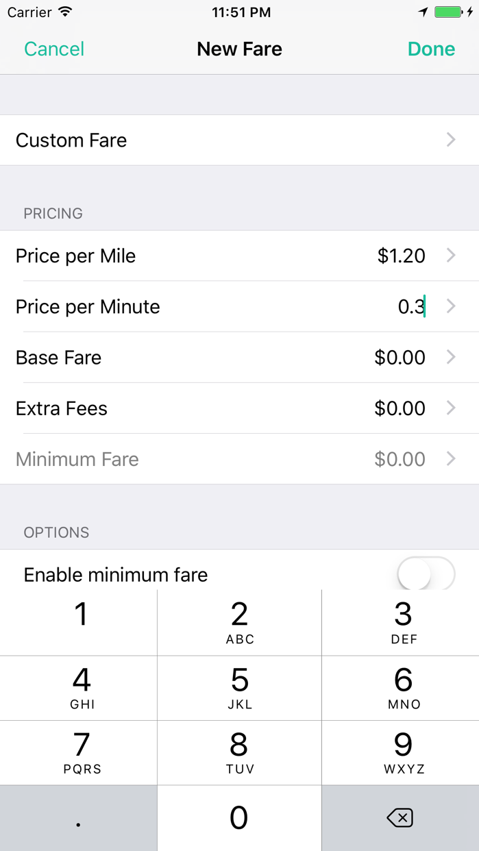 Meter for Taxis Screenshot