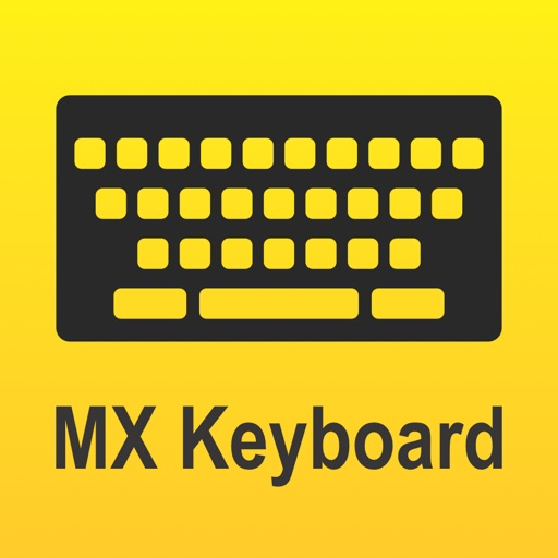 Download MX Keyboard free for iPhone, iPod and iPad