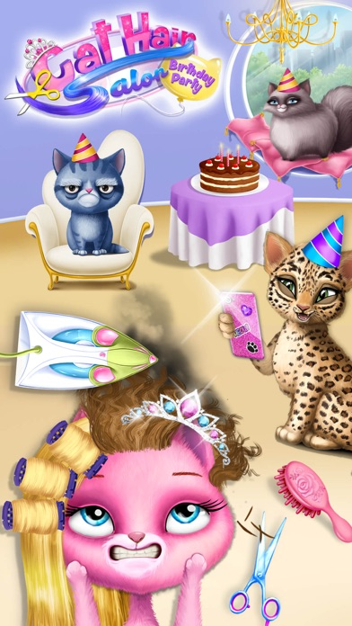Cat Hair Salon Birthday Party screenshot 5