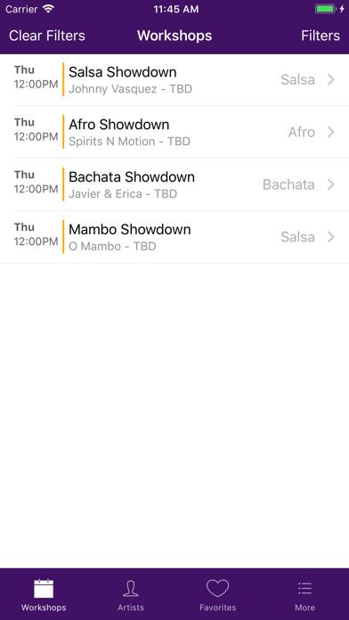 Atlanta Salsa Bachata Festival screenshot two