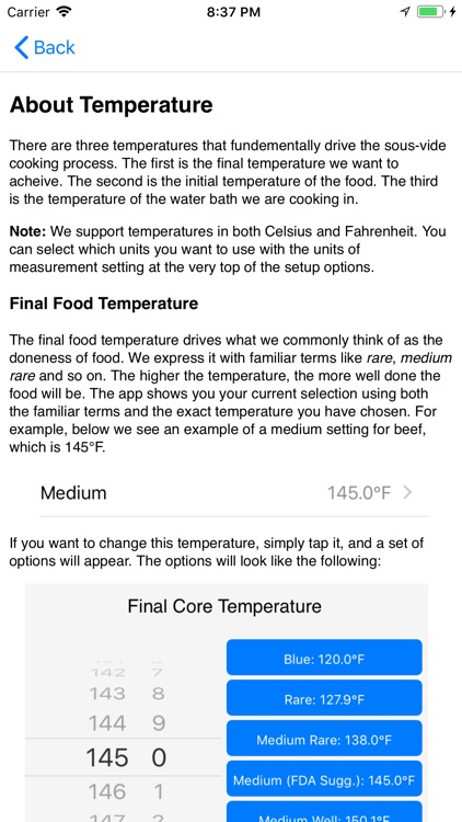 PolyScience Sous Vide Toolbox screenshot-4