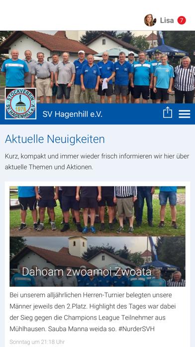 点击获取SV Hagenhill e.V.
