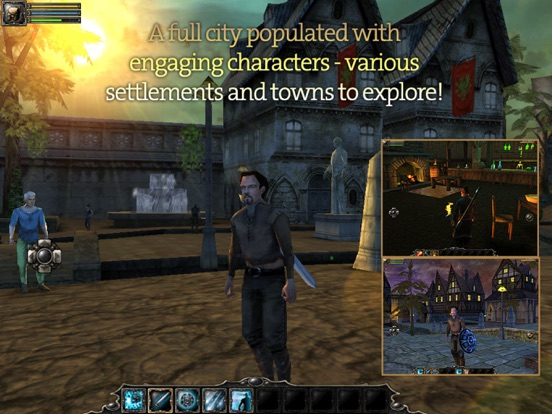 Aralon: Sword and Shadow на iPad
