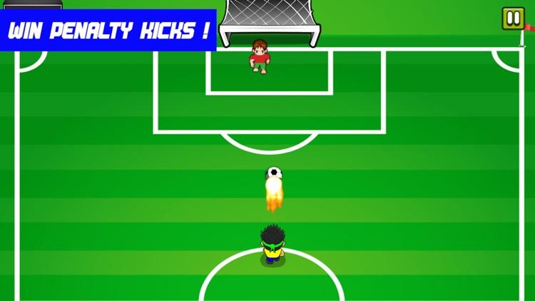 Football Strike Goalkeeper Boy