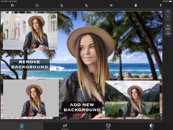 Superimpose Screenshots