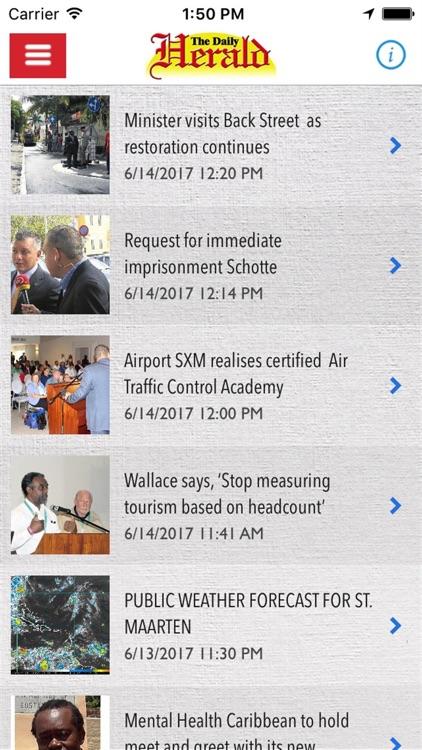 Daily Herald SXM screenshot-3