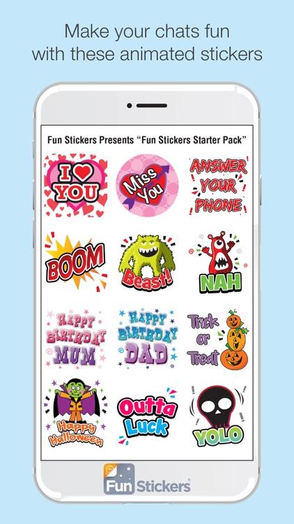 Fun Stickers Starter Pack