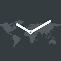 map:clock - World Map & Clock