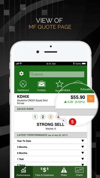 Zacks Mobile App screenshot-3
