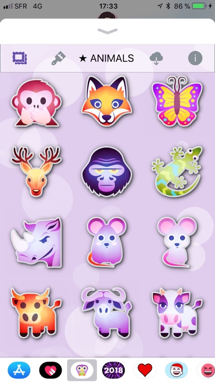 Animals Emoji • Stickers screenshot-4