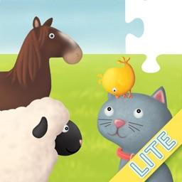 Farm Animals Puzzles Lite