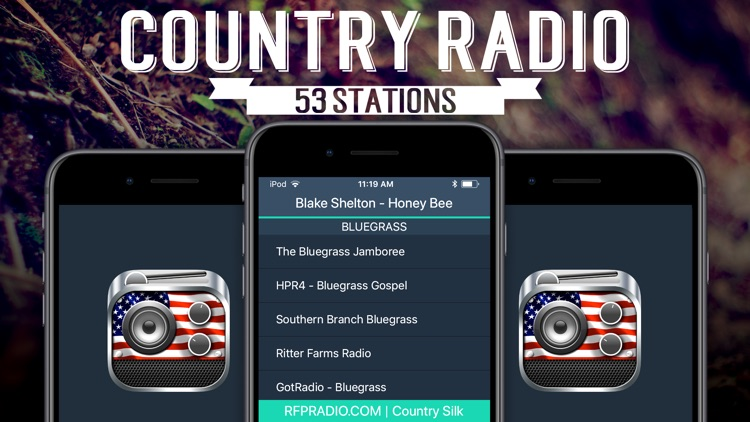 Country Radio: Streaming Music