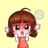 Lovely Baby Girl Animated