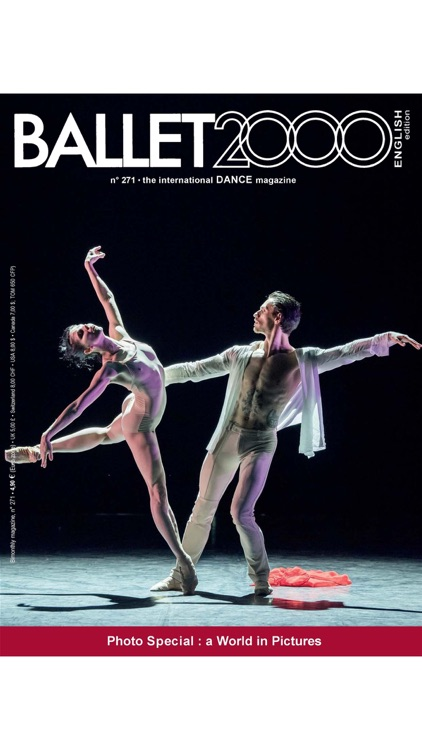 BALLET2000 English Edition - THE INTERNATIONAL DANCE MAGAZINE