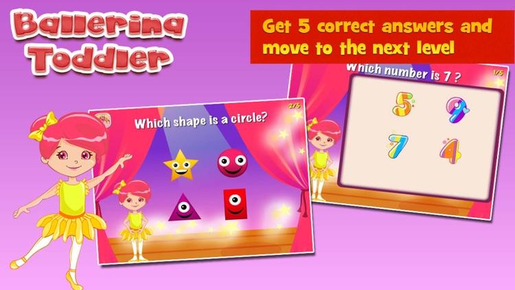 Ballerina Toddler Kids Game