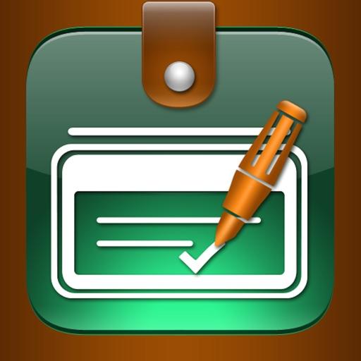 Checkbook - Ledger iOS App