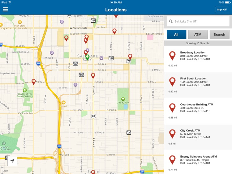 Zions Bank for iPad screenshot-3