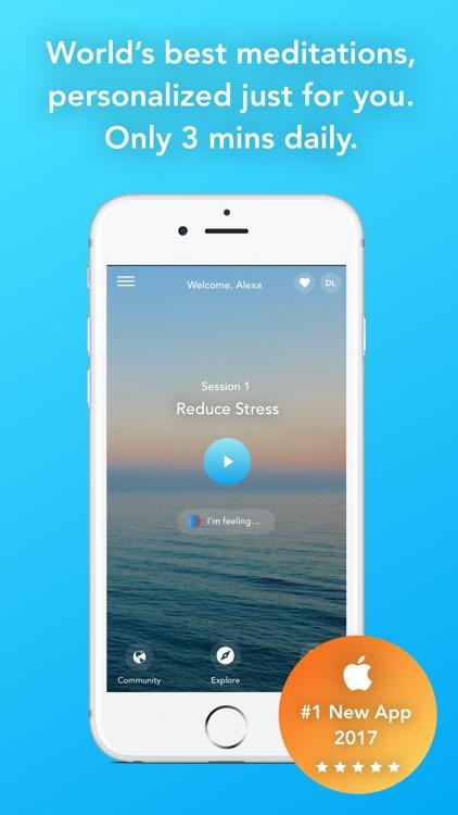 Aura: Mindfulness & Meditation screenshot-0