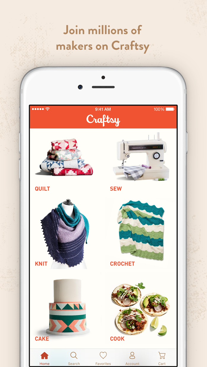 Craftsy Screenshot