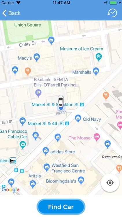 Find my parked car : find car? screenshot-3