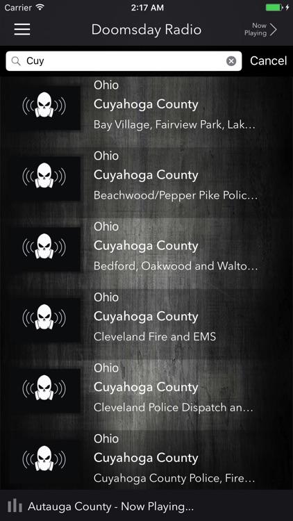 Doomsday Radio: Live Police Scanner
