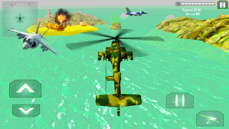 Helicopter Gunship Air Strike screenshot-3
