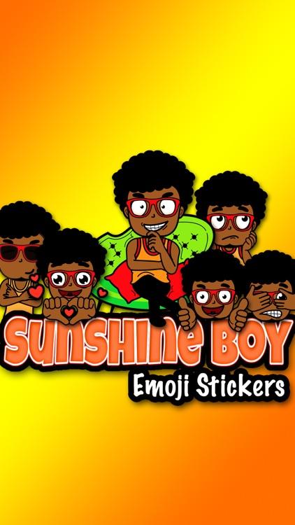 Sunshine Boy Emoji Stickers