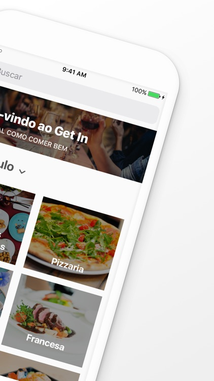 Get In - Restaurantes e Bares