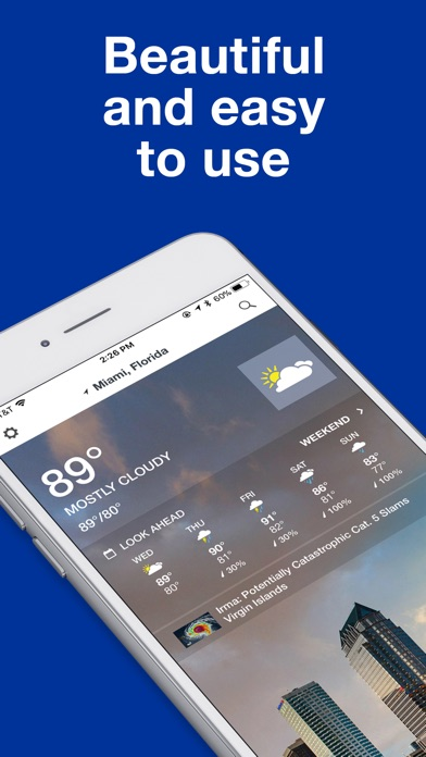 The Weather Channel: Forecast app image