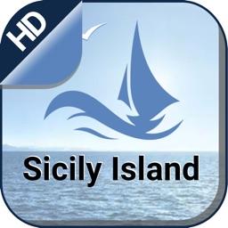 Sicily Island Nautical Charts