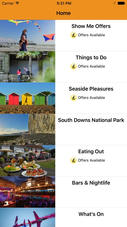 Eastbourne Guide & Offers