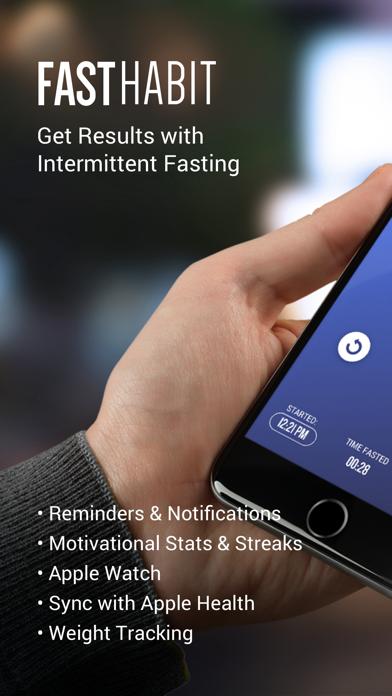 FastHabit Intermittent Fastingのおすすめ画像1