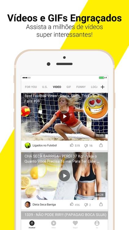 TopBuzz: Notícias,Vídeos, GIFs
