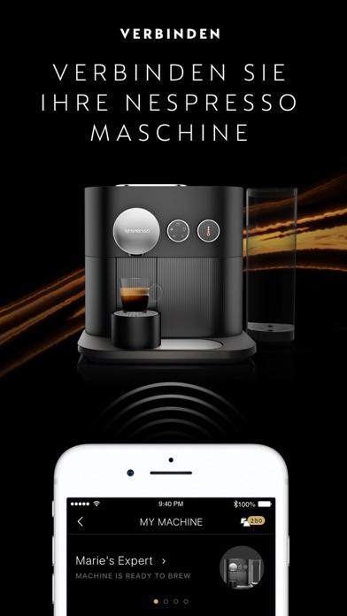 Screenshot for Nespresso in Germany App Store