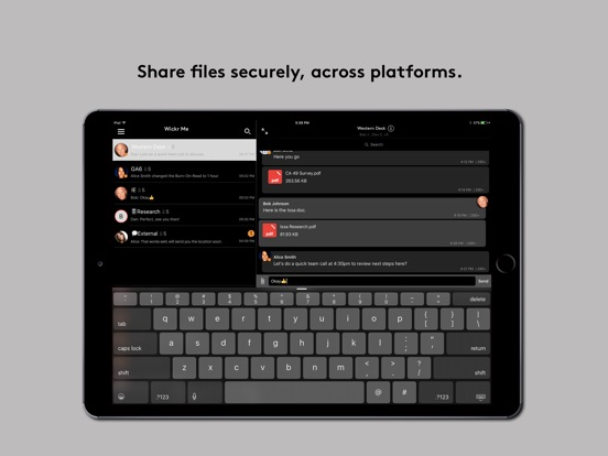Wickr Me - Private Messenger Screenshot