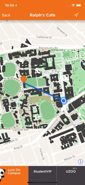 St Catherine University Campus Map.Lost On Campus By Studentvip On The App Store