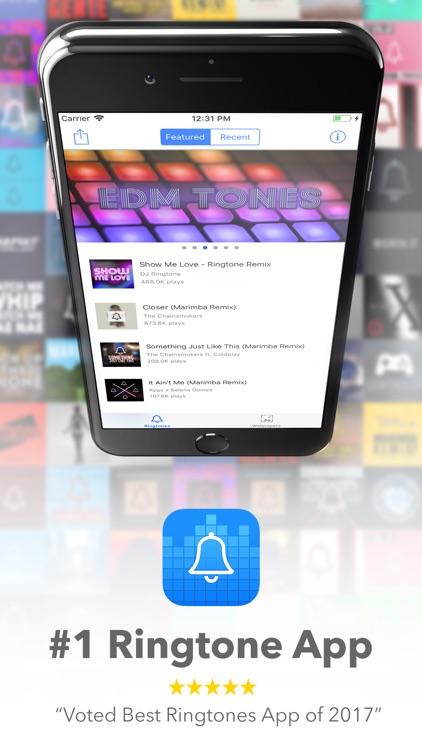 Marimba Ringtone Remixes screenshot-0