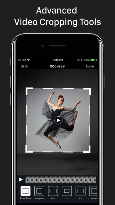 Video Crop – Trim & Cut Videos Screenshot