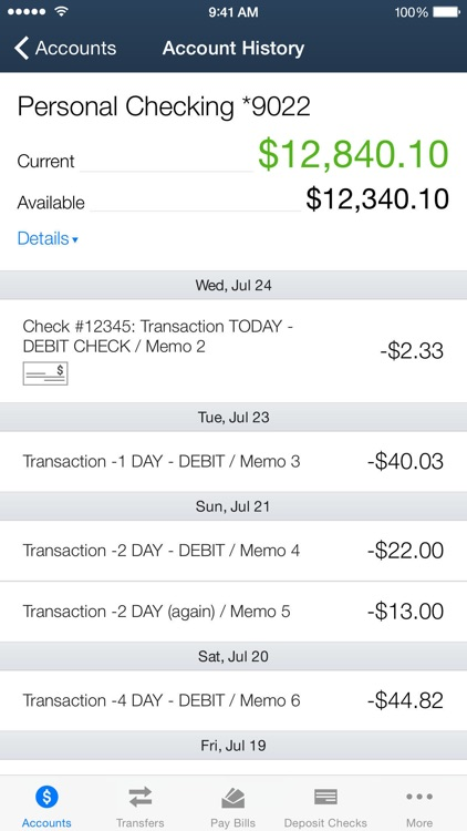 AACFCU MOBILE BANKING screenshot-1