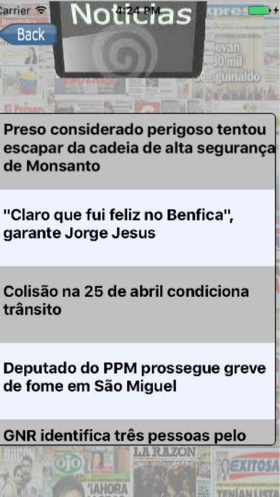 Entre Notícias Portugal screenshot two