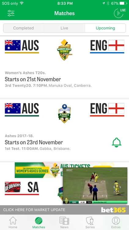 Cricket Australia Live screenshot-3