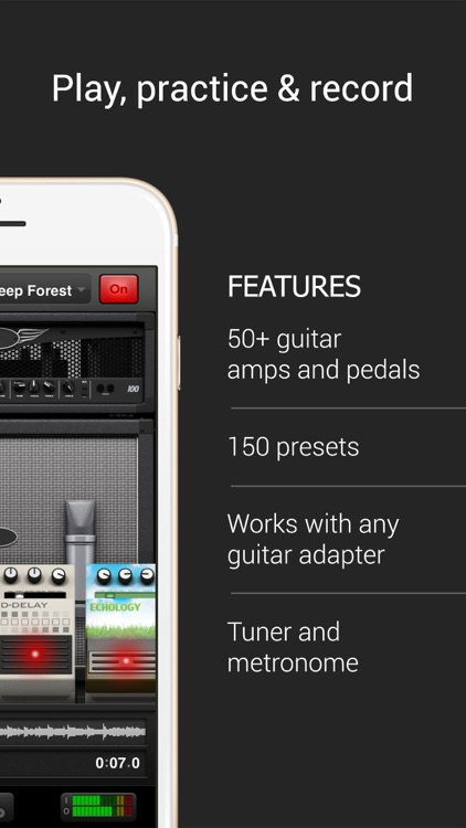 AmpKit+ guitar amps & pedals