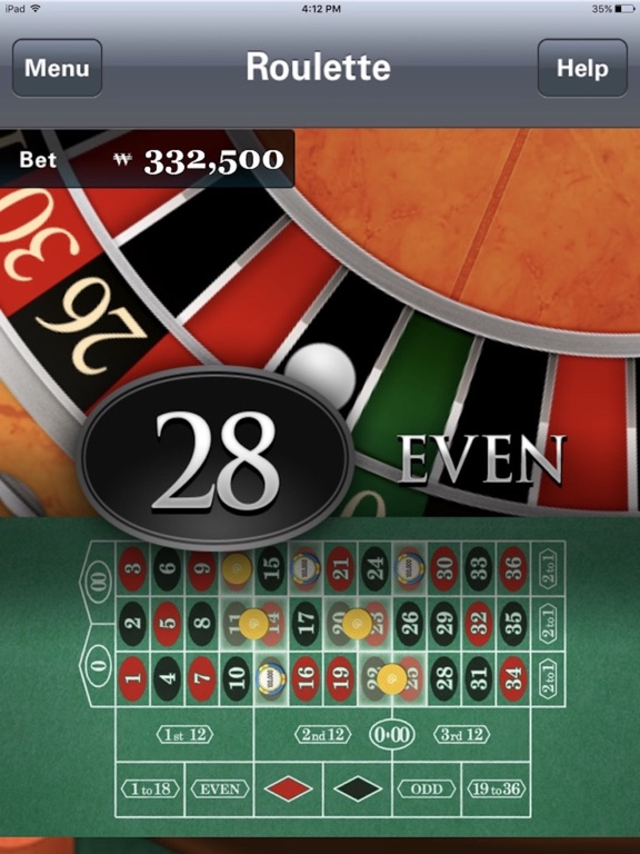 The Roulette by Paradise Casino Walkerhill screenshot