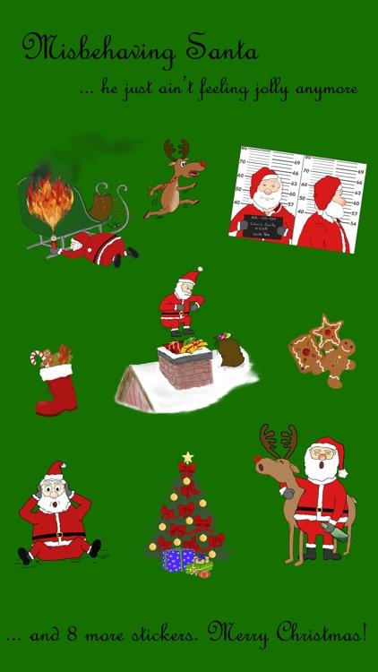 Misbehaving Santa