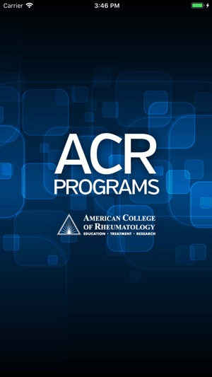 ACR Programs on the App Store
