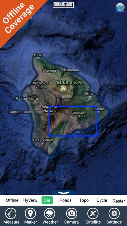 Hawaii Volcanoes National Park - GPS Map Navigator screenshot-4