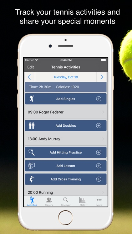 TennisKeeper - Tennis Tracker screenshot-0